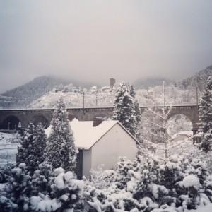 Hornberg, im Schnee versunken...
