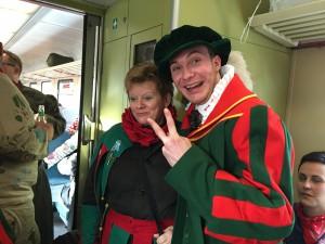 Spaß im Zug :)